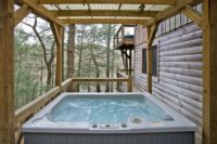 Hayloft Hot Tub